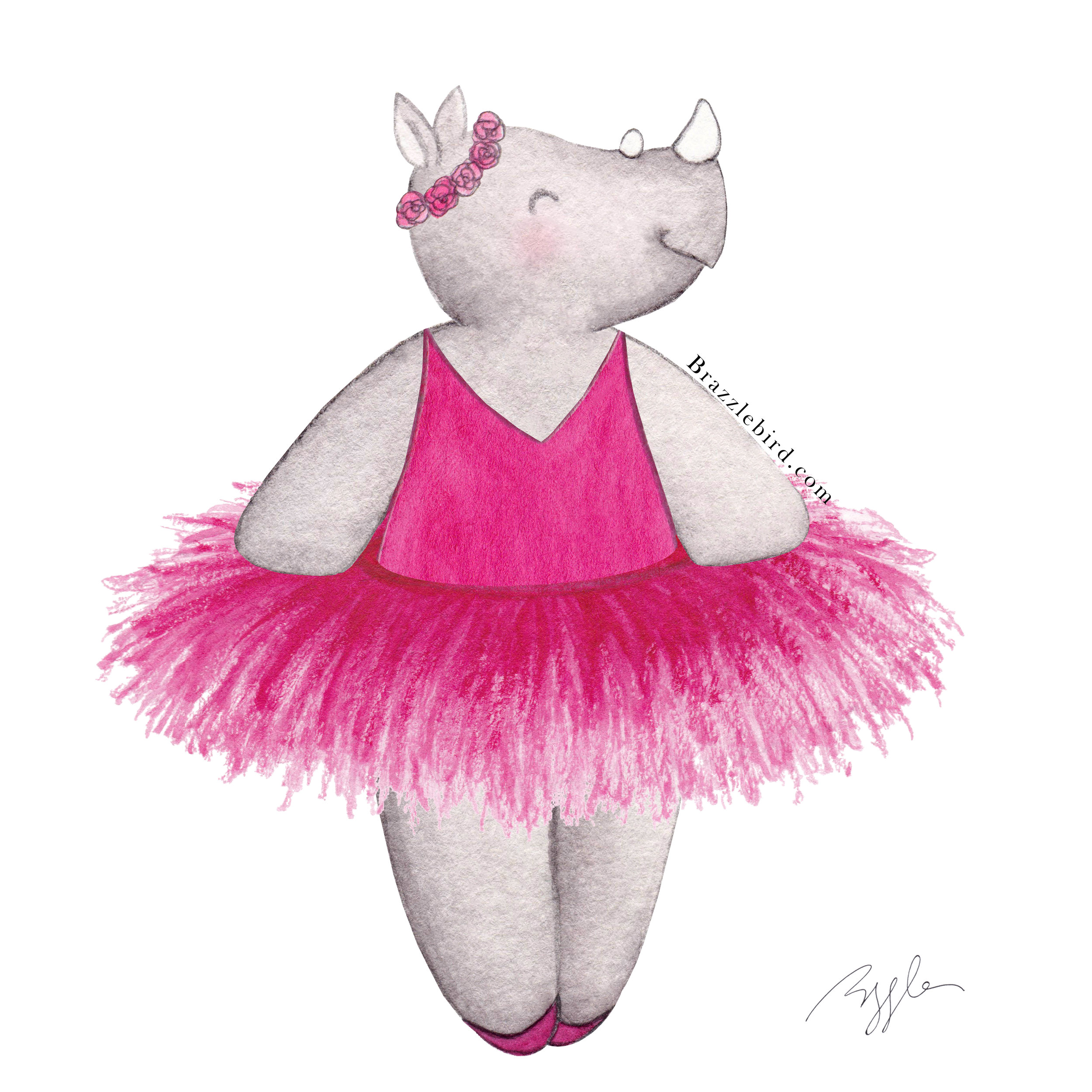 Brazzlebird - Ballerina Rhino Pink Tutu