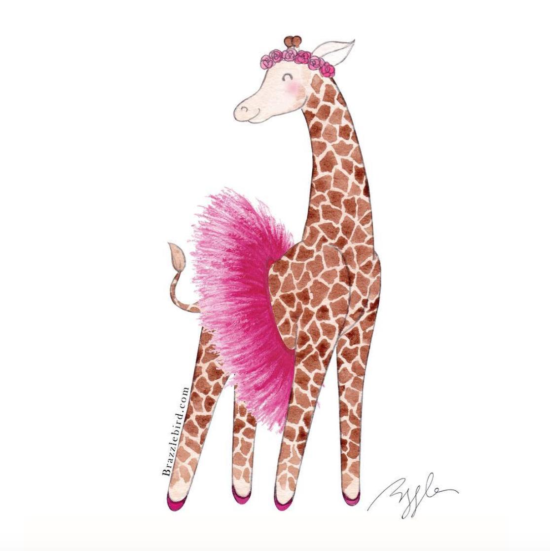 Brazzlebird - Ballerina Giraffe Pink Tutu