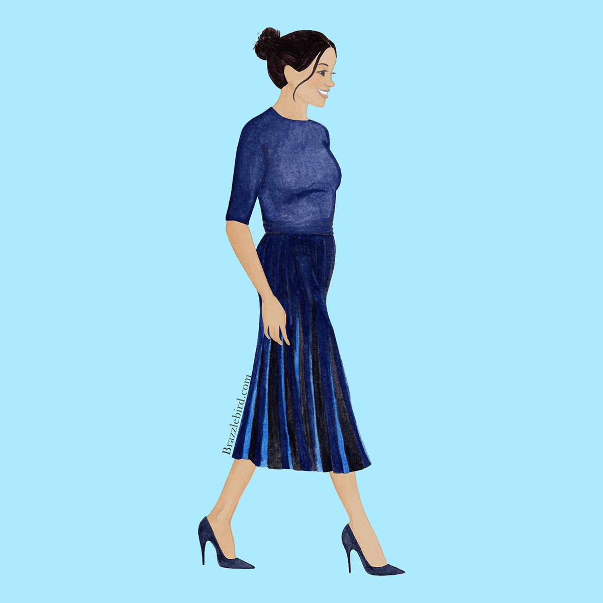Meghan Finished Pleated Givenchy Dress.jpg