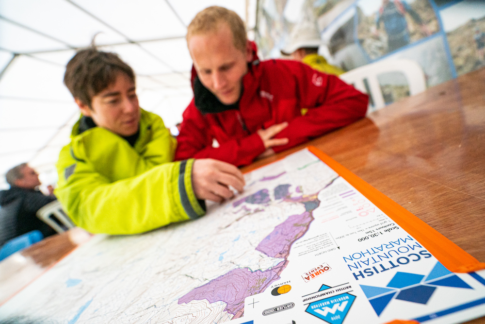 Arrive Friday to socialise with your fellow participants and study the event map over a brew  ©Steve Ashworth