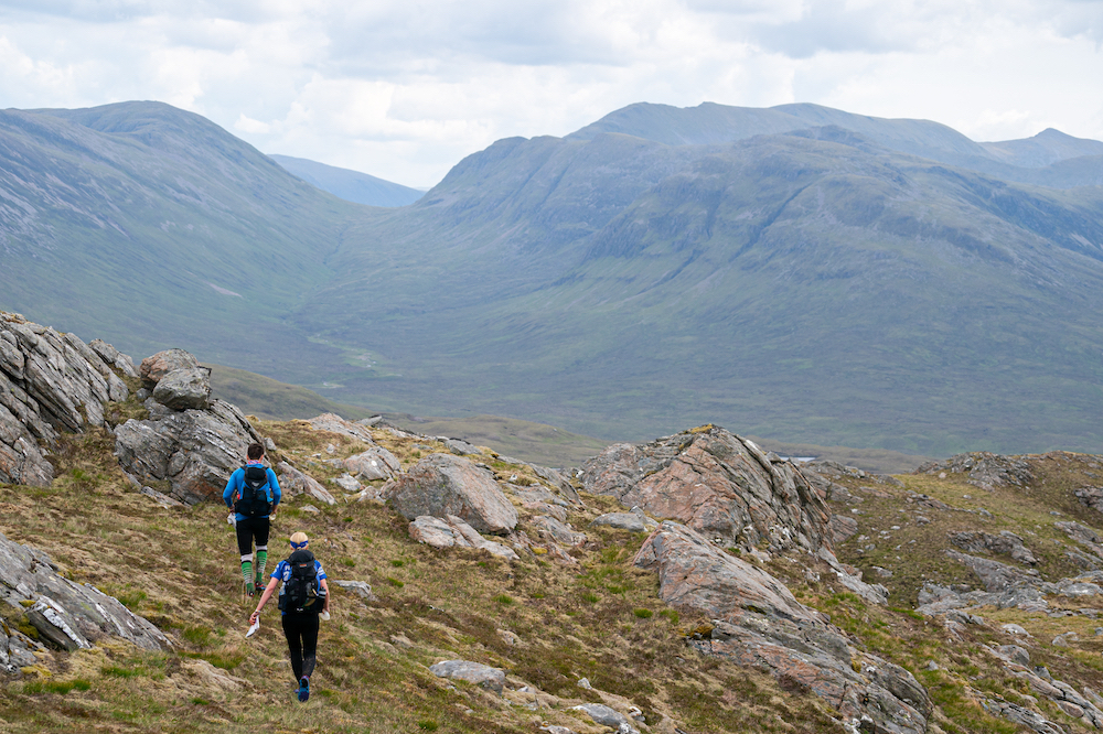 """The promise of """"incredible journeys through Scotland's finest mountain environments"""" was kept! ©Steve Ashworth Media"""