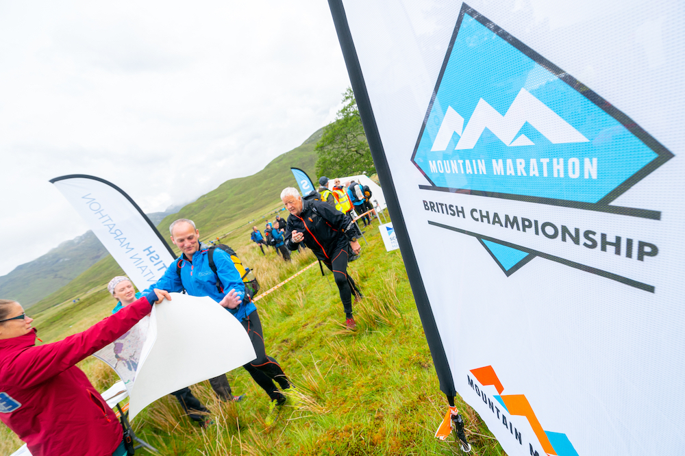 Collecting maps at the start of day two ©Steve Ashworth Media