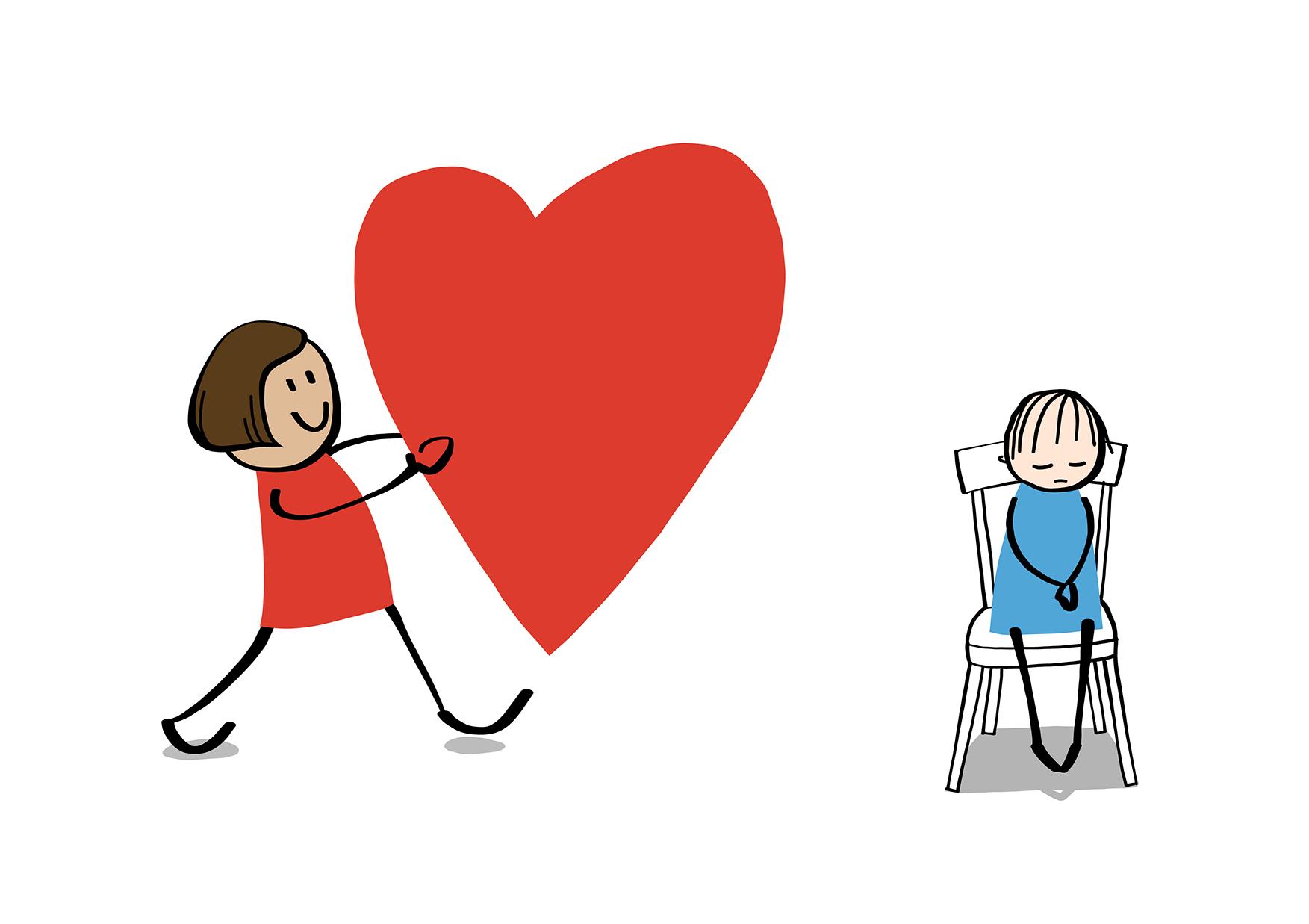 Stora hjärtan