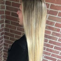 Thin Hair Solutions - We took an ombre approach to this client's hair to frame her face and give the illusion of fullness.