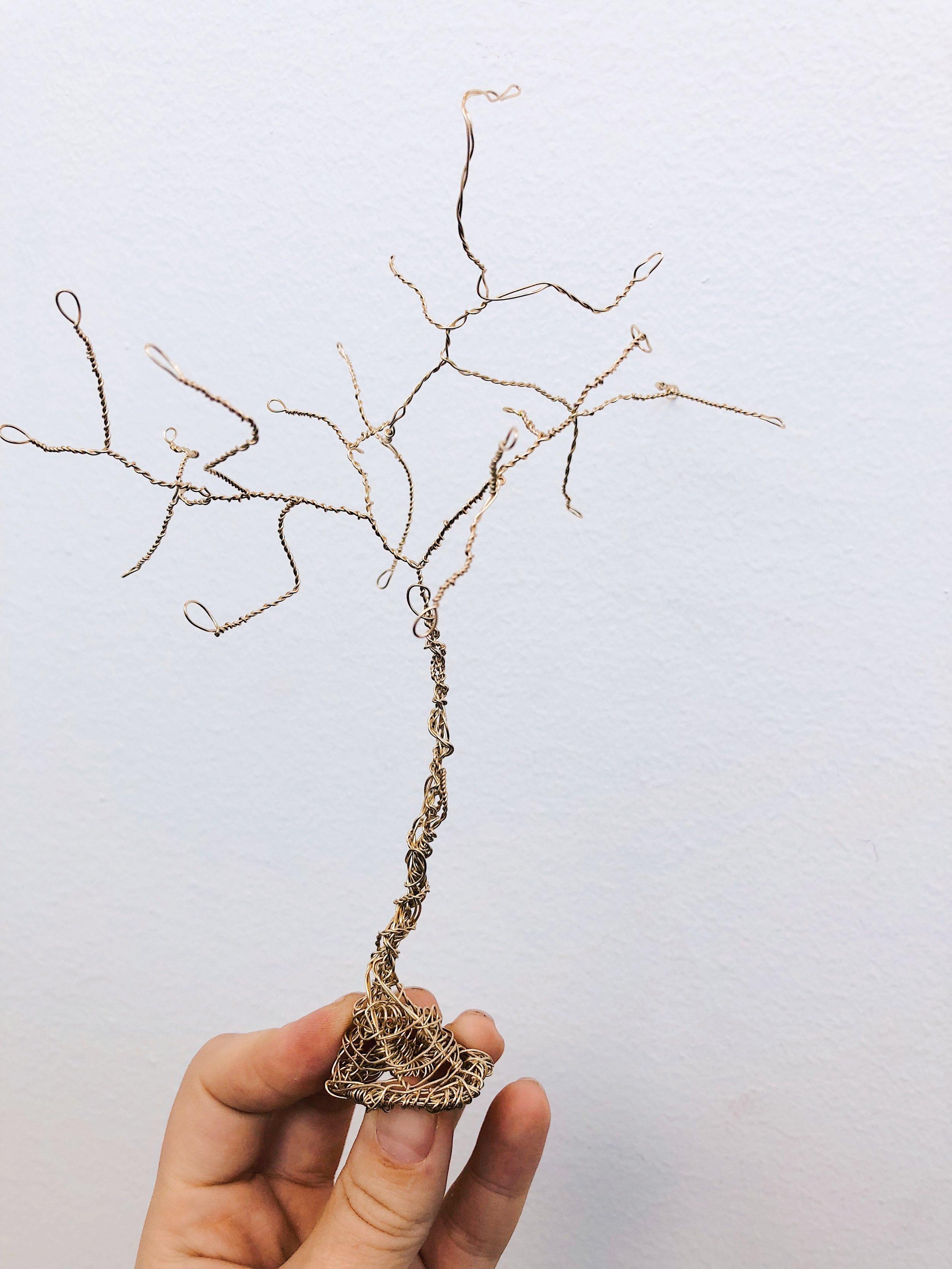 Och ett luffarslöjdsträd.