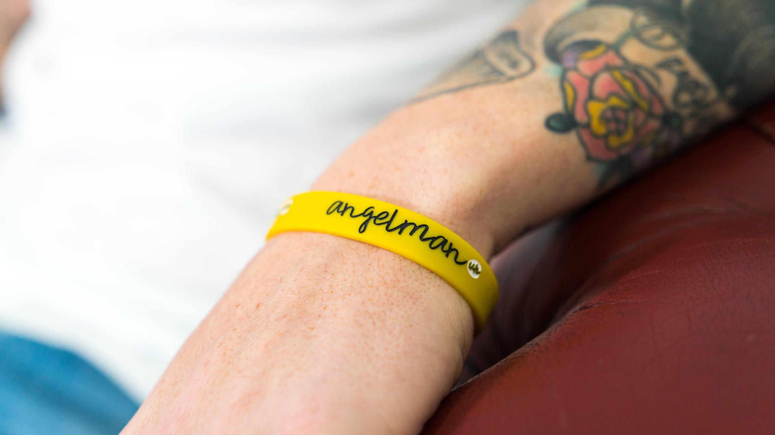 Angelman Uk Wristband