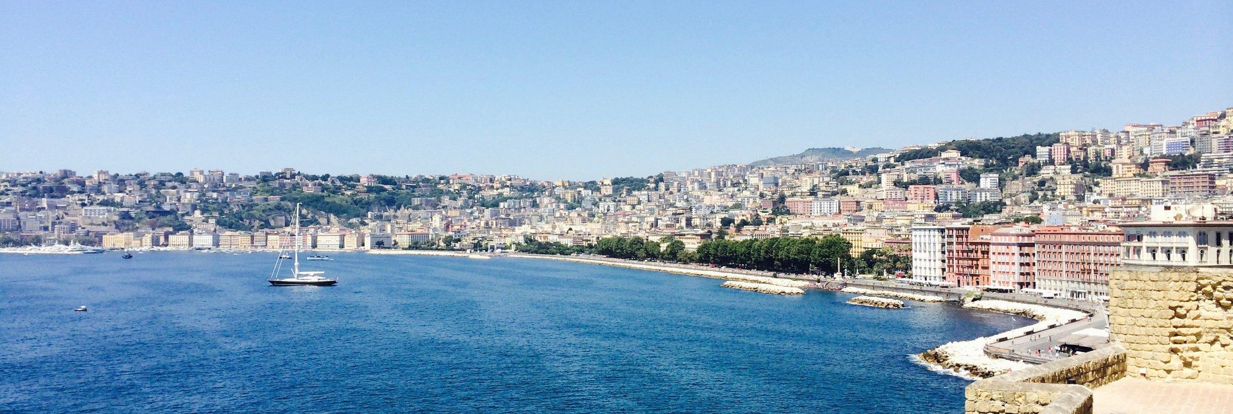 Cosenza coast line
