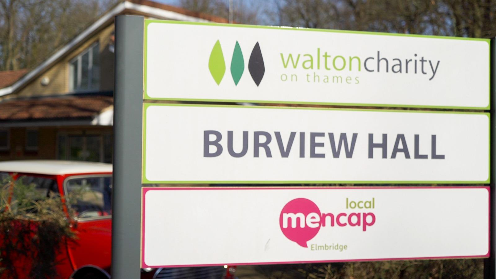 Burview Hall, Walton-on-Thames