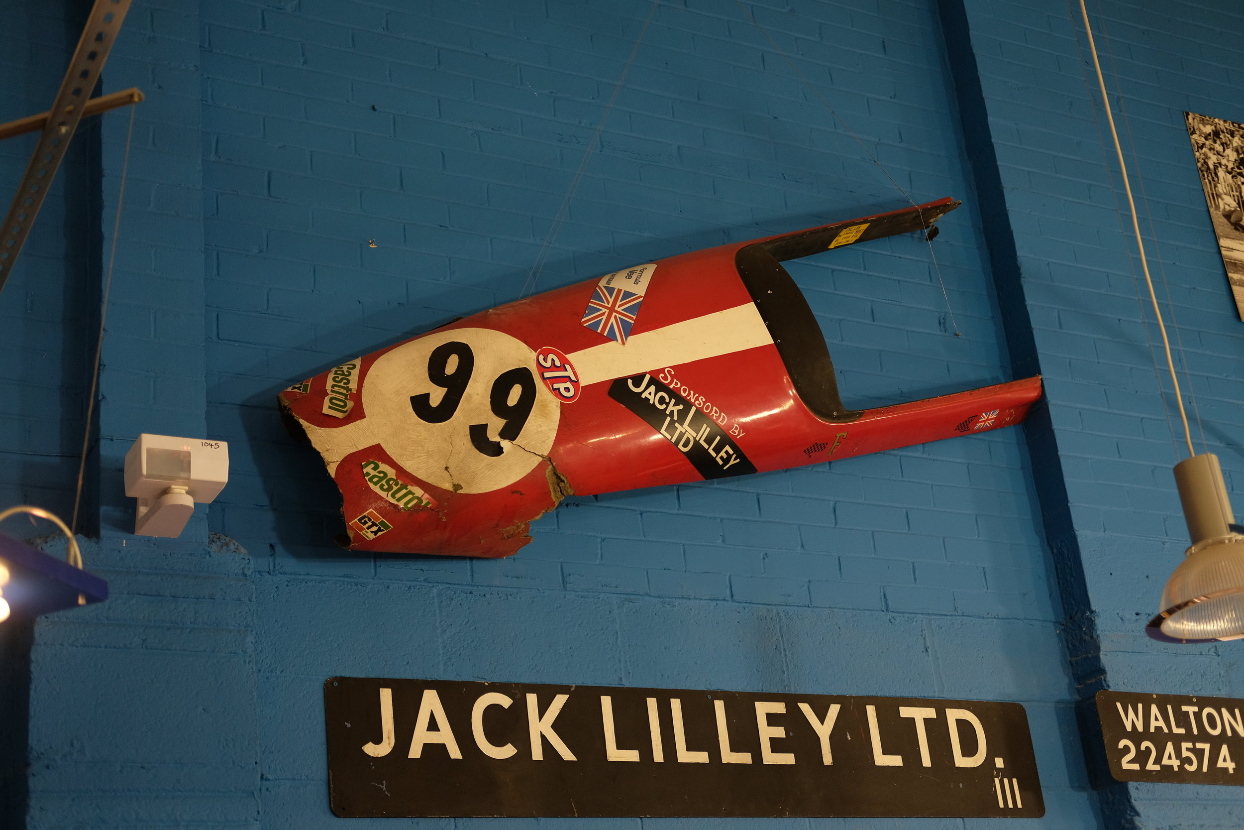 Jack Lilley's Triumph Showroom has a lot of history