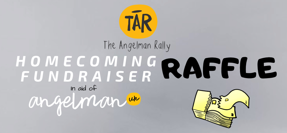 HOW TO ENTER THE RAFFLE ONLINE - 1. Click here for the THE HOMECOMING RAFFLE PAGE2. Leave a donation of £1 per raffle ticket3. Let us know clearly in the comment, how many raffle tickets you want, with your NAME4. Contact us via EMAIL for your raffle ticket number/s.5. Email corinne@theangelmanrally.org for your raffle ticket numbers (Subject line 'Homecoming Raffle')Raffle tickets will also be sold at the event.We will go LIVE on facebook at 1pm for the draw of the prizes