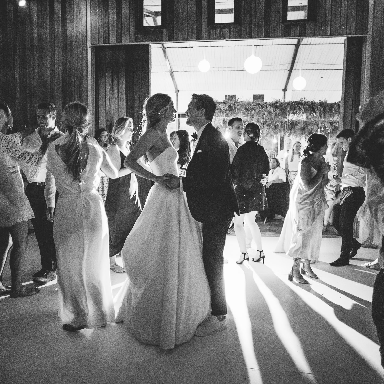 Kim & ChrisPhoto: Tasha Seccombe PhotographyVenue: Rockhaven -
