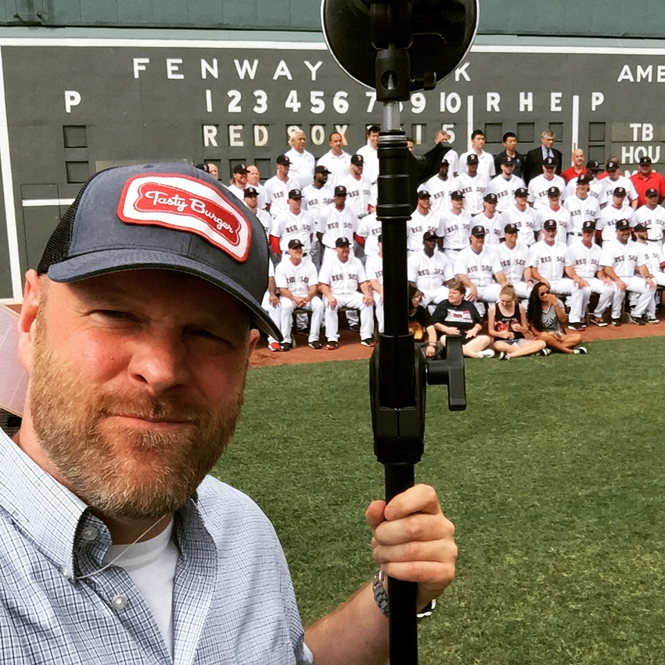Team Photo Day at Fenway Park
