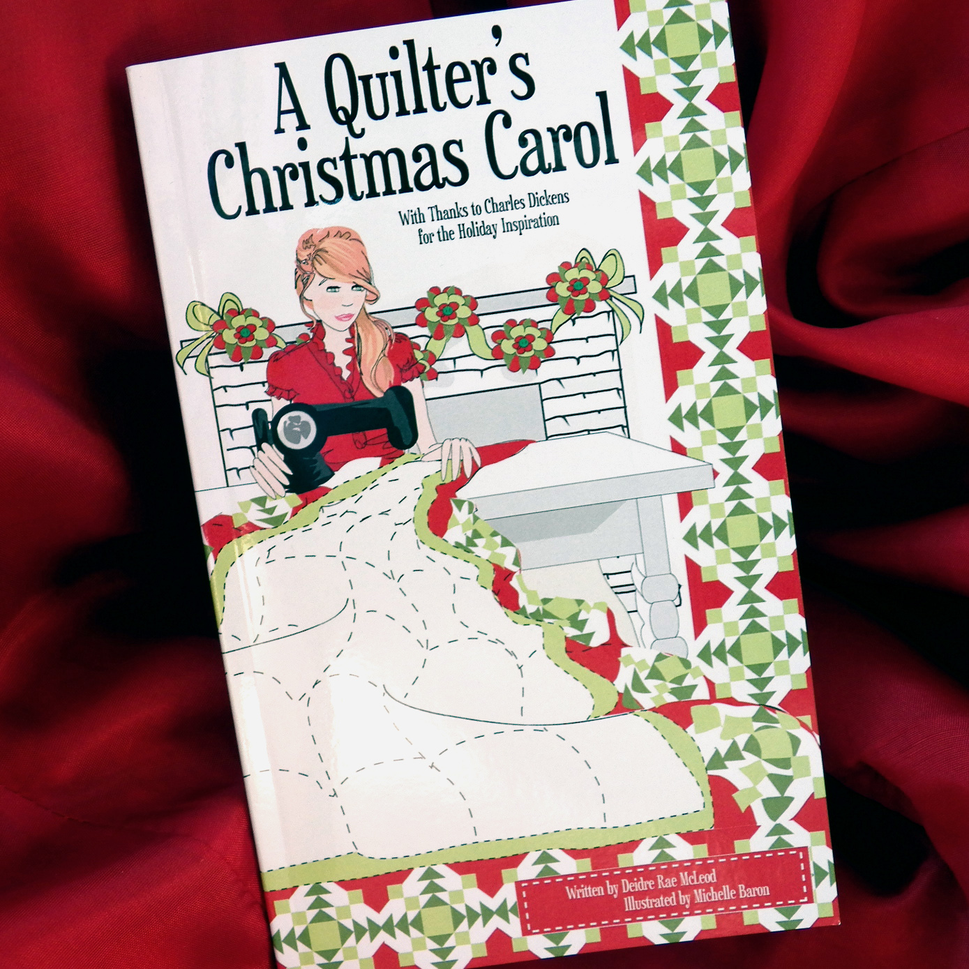 A Quilter's Christmas Carol gift book
