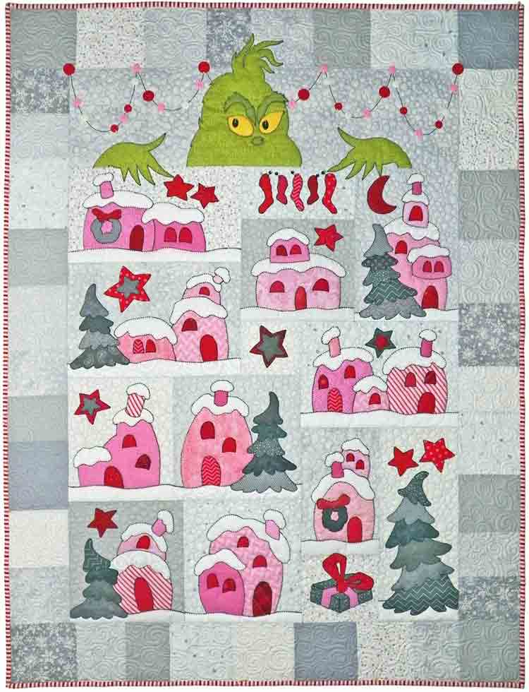 custom Whoville quilt by Whimzie Quiltz and More