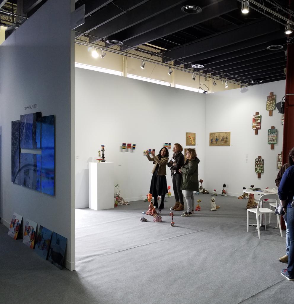 VOLTA NY 2018 Bruno Miguel Sapar Contemporary