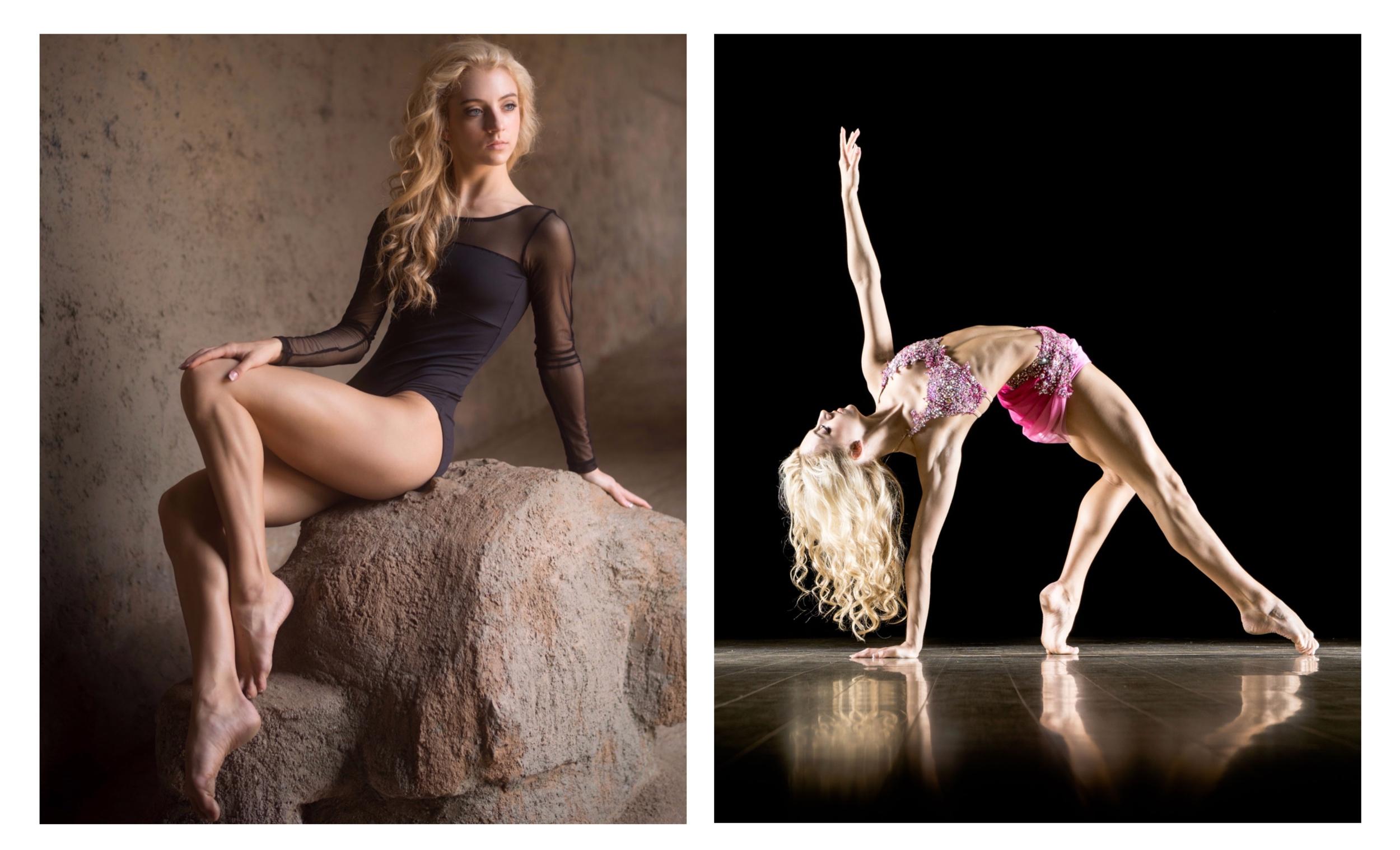 dancer gallery design 1 - view demo