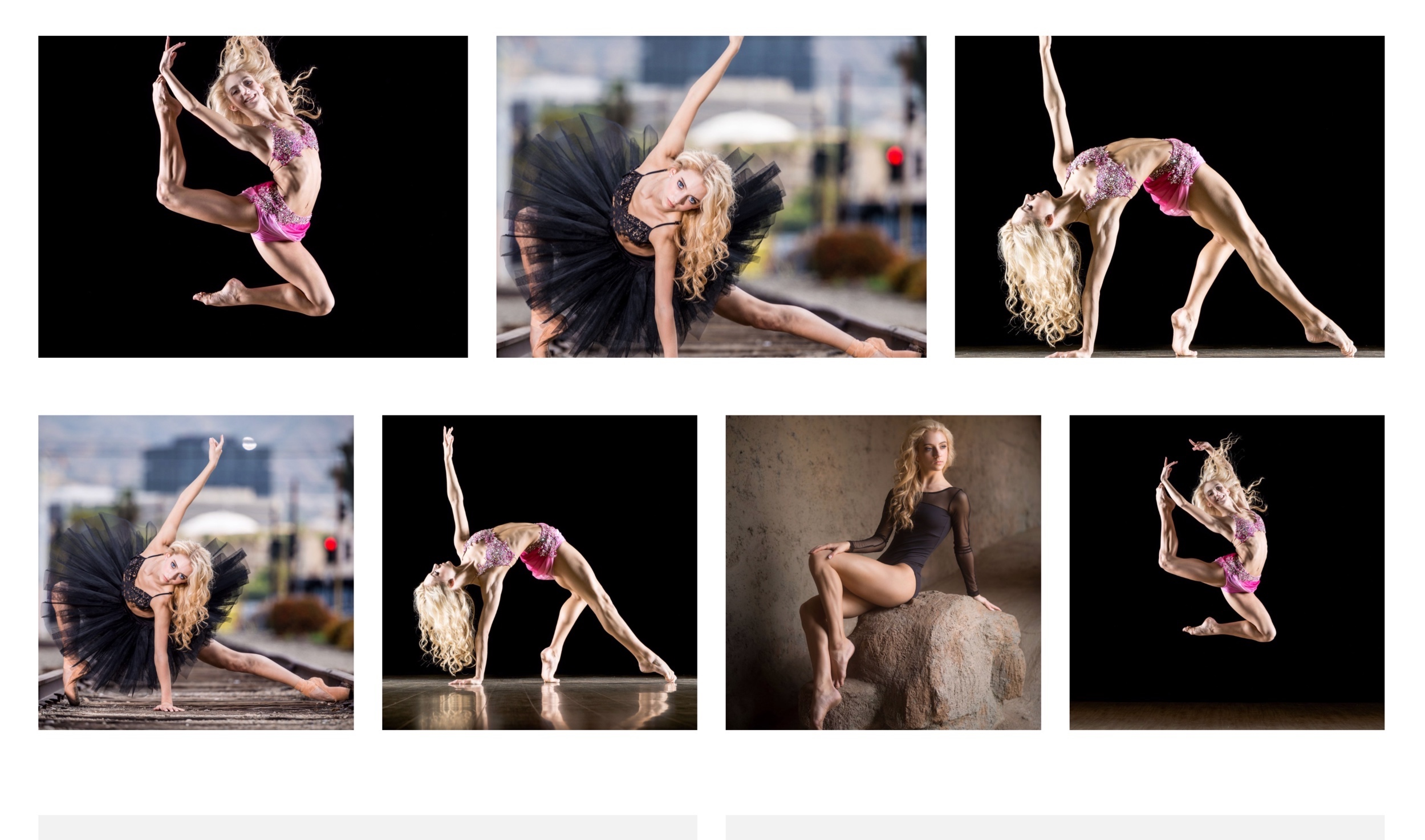dancer gallery design 2 - view demo