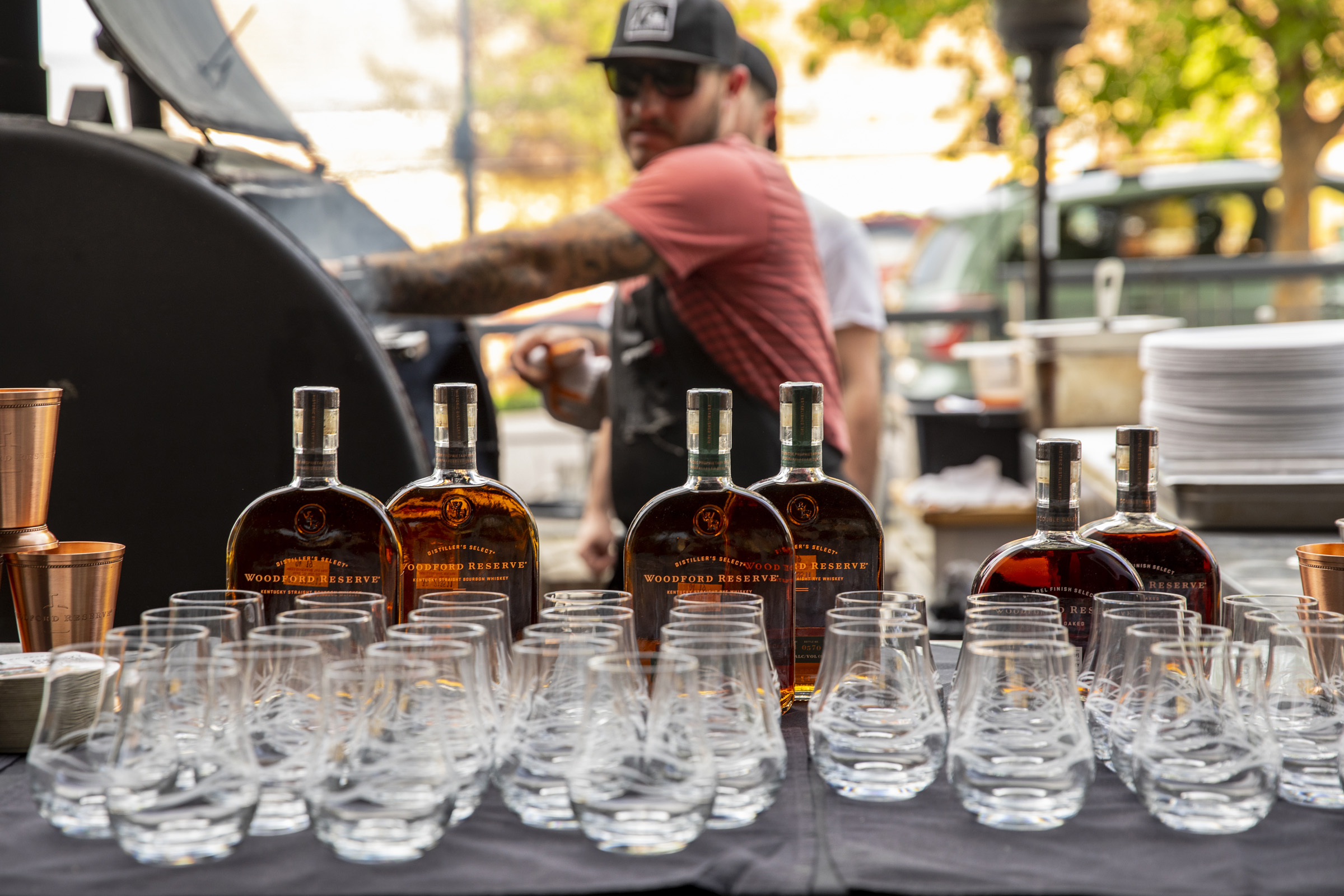 """""""Up In Smoke"""" Features BBQ, Woodford Bourbon Good Vibes with Good People"""