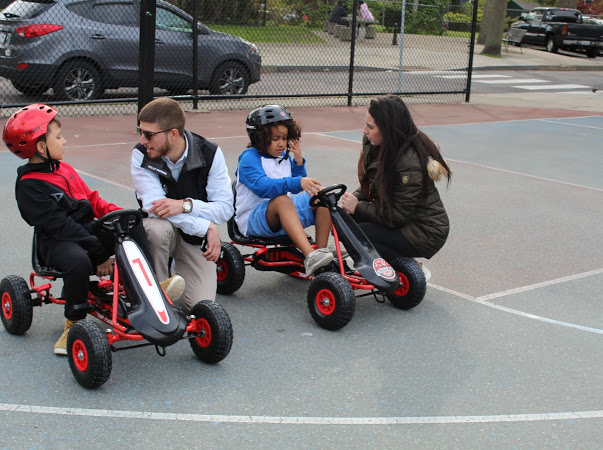 Hearing feedback from our official pedal car testers at the Dr. Martin Luther King, Jr. Community Center. Getting ready for October!