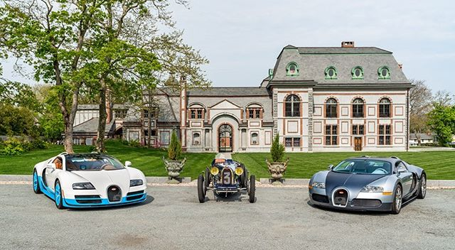 Stop by and admire @bugatti at Belcourt Castle October 3rd through 6th, where they will display a number of cars on property for the entirety of the Motor Week. We are elated to celebrate the 110th anniversary of the historic marque at such a fitting location.