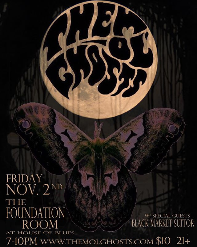 CHECK IT OUT! After halloween weekend drains all of your energy, come let us guide you through chillville with an intimate toned down set at @foundationroomneworleans with our good friends @blackmarketsuitor  We'll be playing plenty material new and old so come post up on them comfy couches and lets ride!