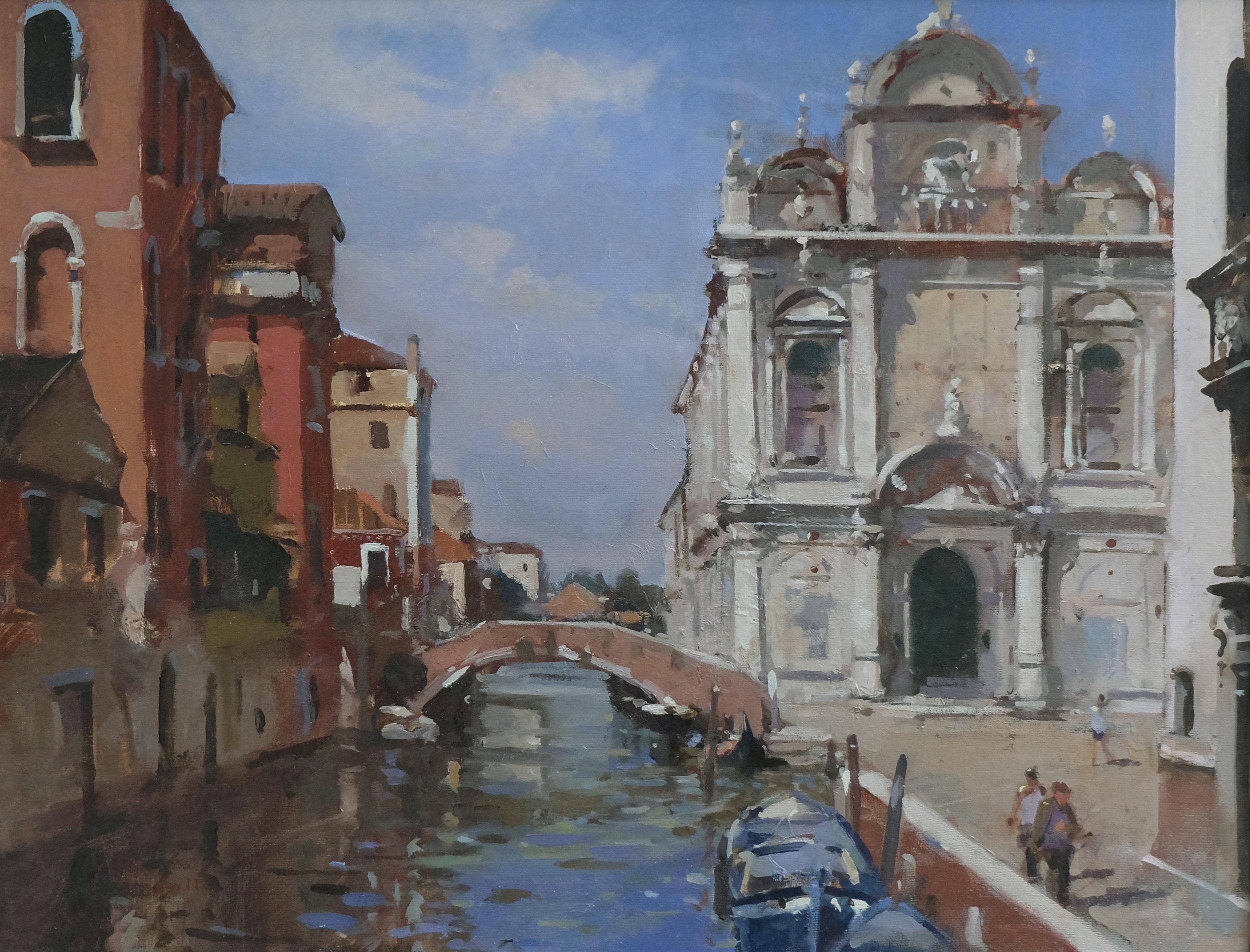 San Zanipolo, Venice - Reference: BM/14257Oil, 44x60cm (unframed)£2,850