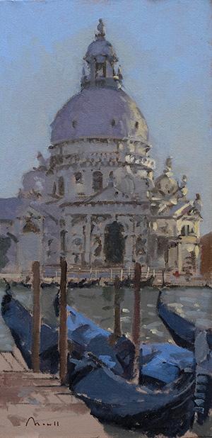 Santa Maria della Salute - 25x50cm £1,100 - Sold