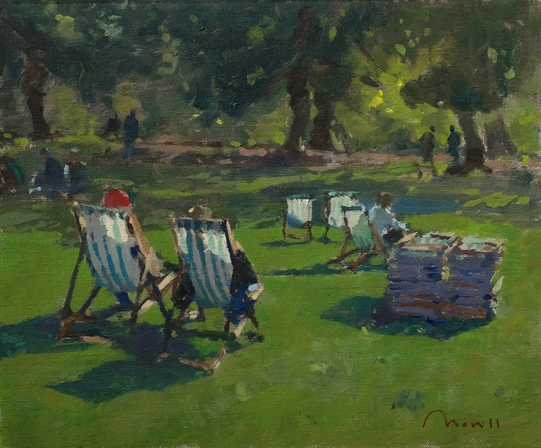 Deckchairs, Green Park, London - Reference: BM/0519/710x12