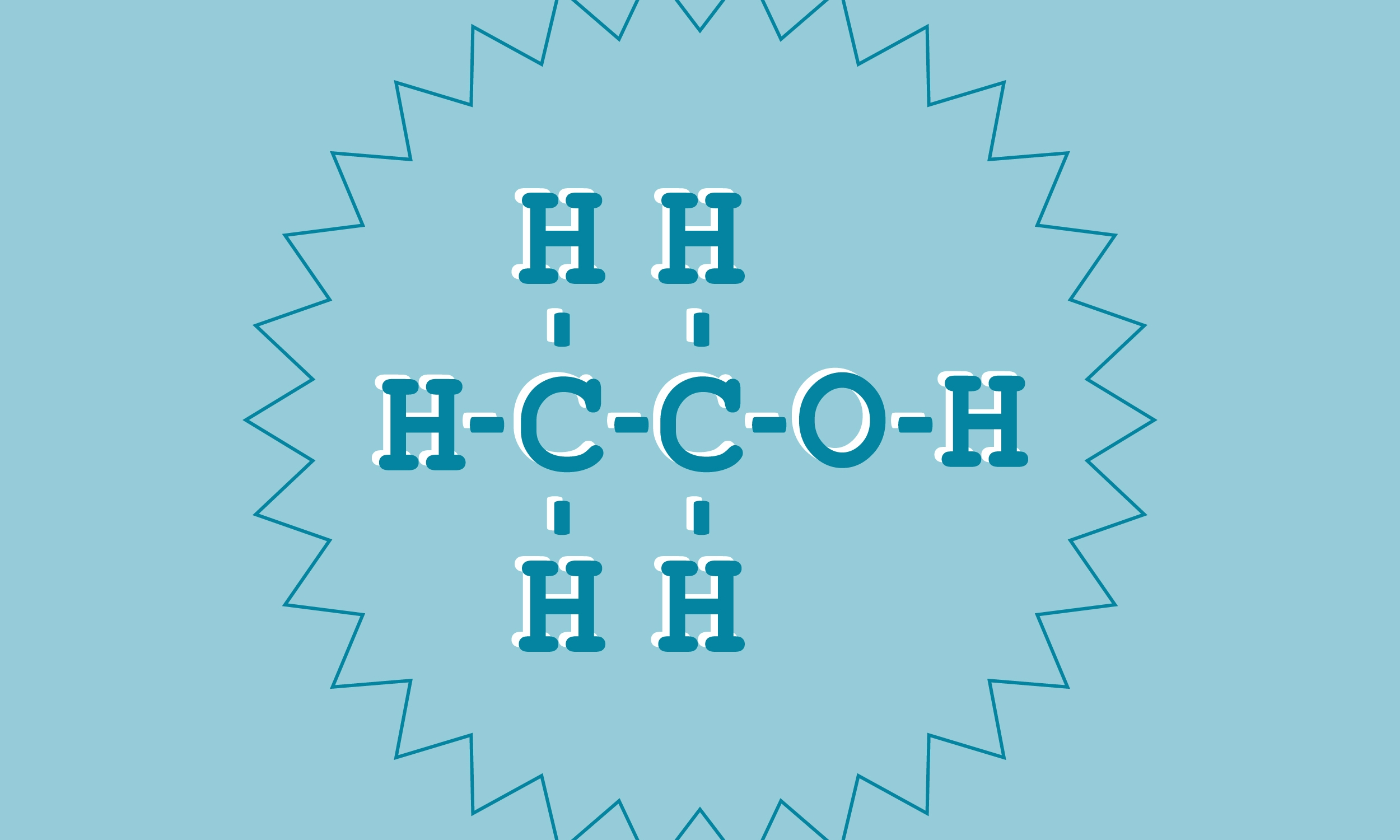 The chemical compound of alcohol: ethanol C2H5Oh