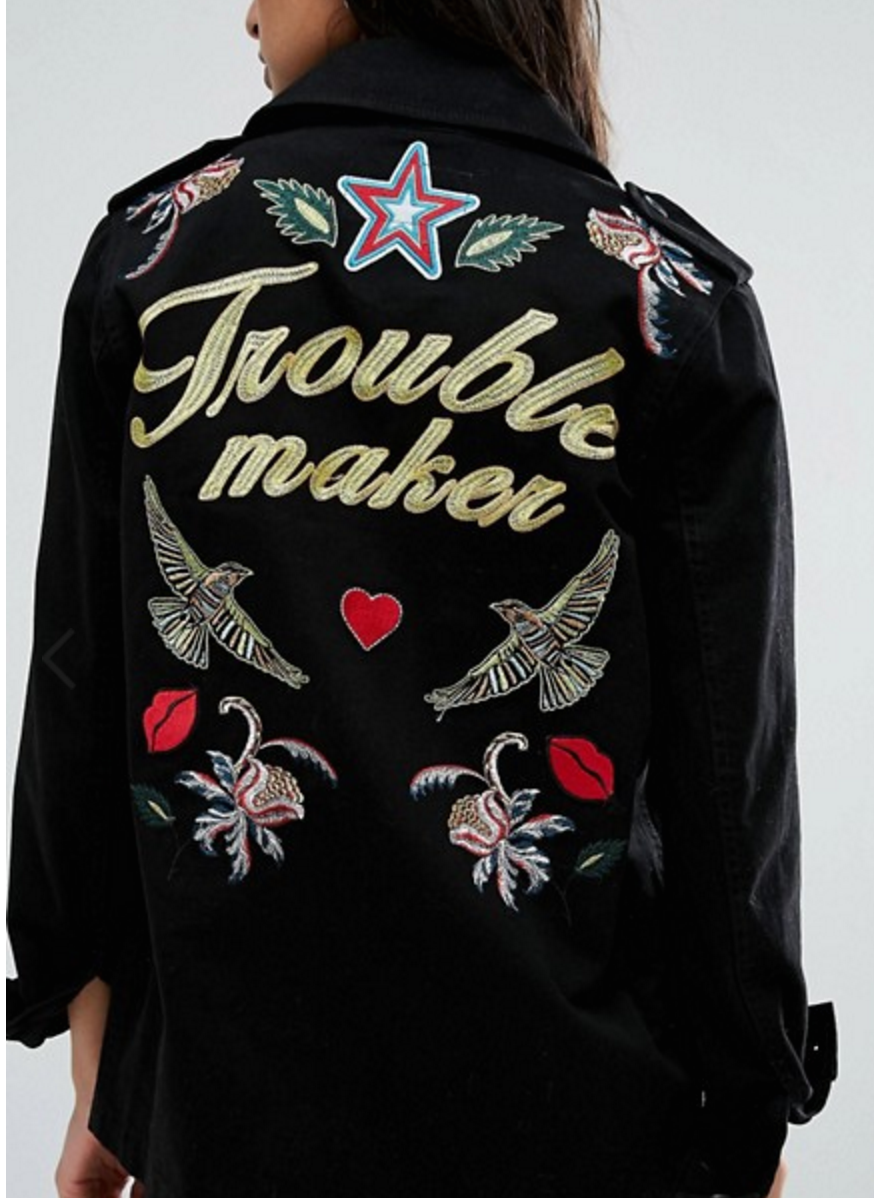 ASOS Trouble Maker Jacket