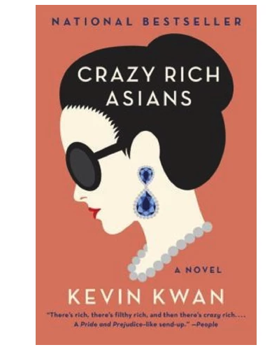 A hilarious book about crazy families that fills my luxe shopping needs