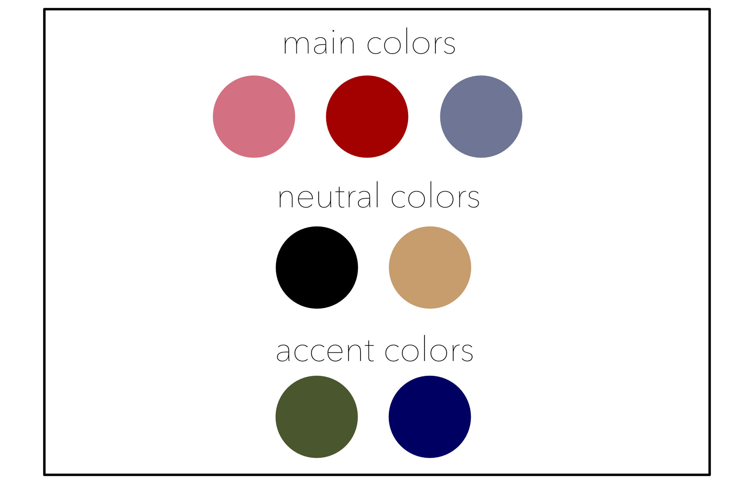 Capsule Wardrobe Color Palette The Laurie Loo