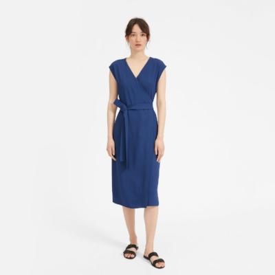 everlane-blue-wrap-dress