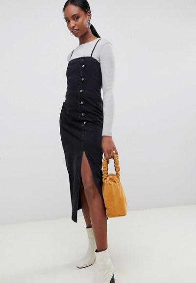asos-black-midi-dress