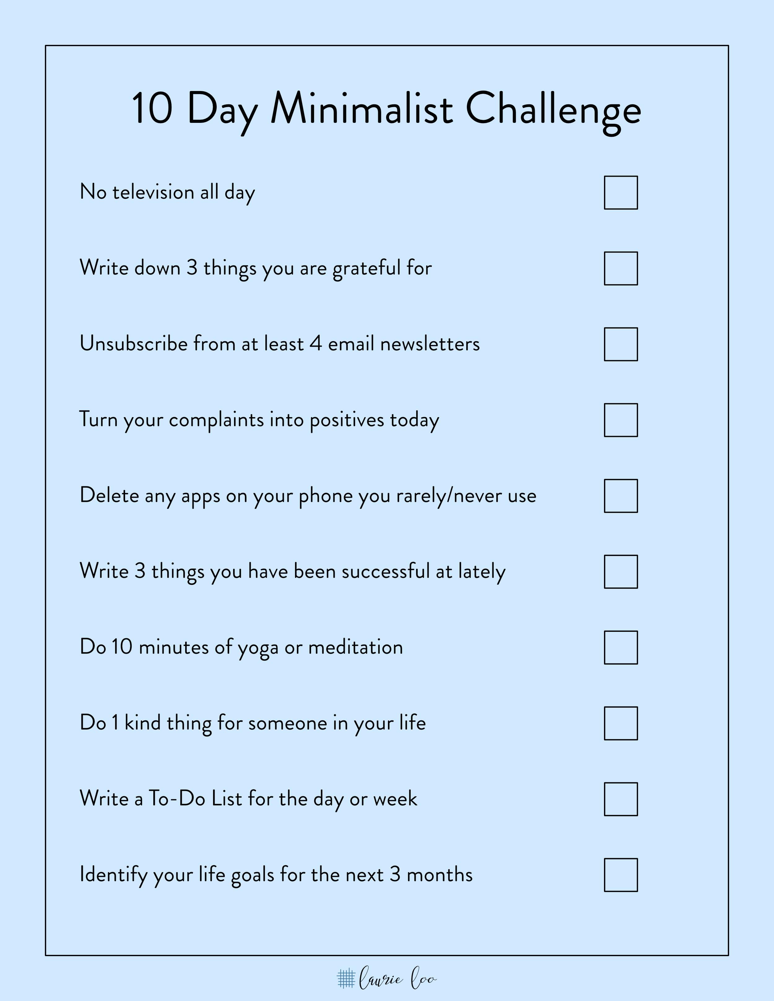 10-day-minimalist-challenge
