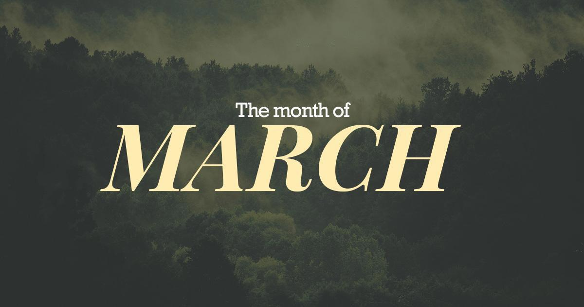 March 2019 -