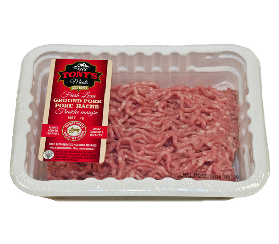RAW PRODUCT  - Lean Ground Pork -  100% Lean ground pork