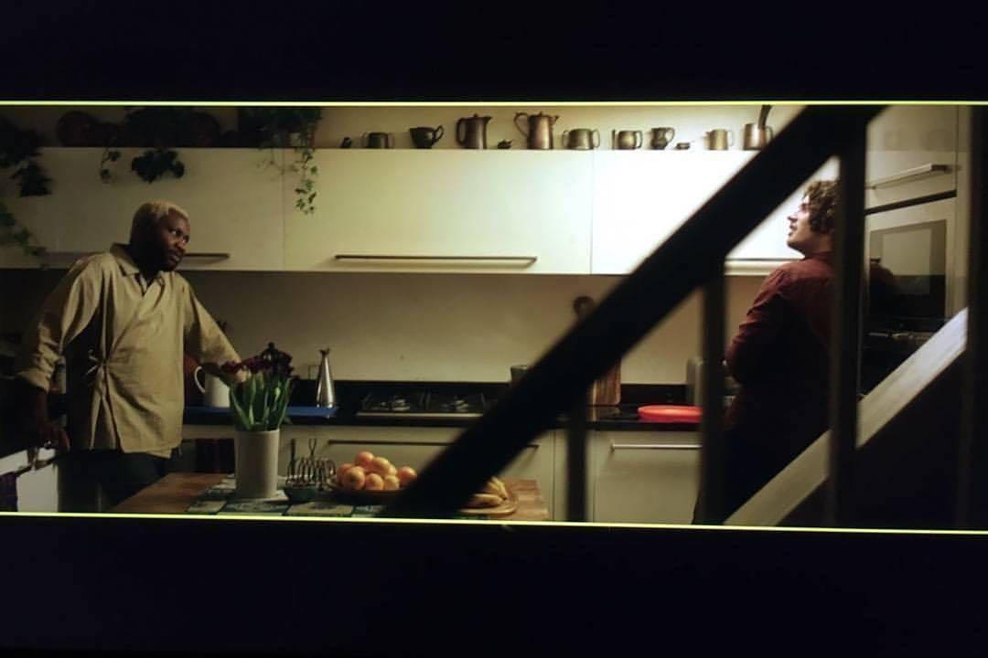I can't begin to explain how happy I am to be working a @jadesunloye1 set with his cinematographer of loivvvvvvveeee (as we say in Naij), @fernandoruizdop!  .  #BTS @facesmovie 📸 @mitchmorganphoto #FacesMovie  (at London, United Kingdom)