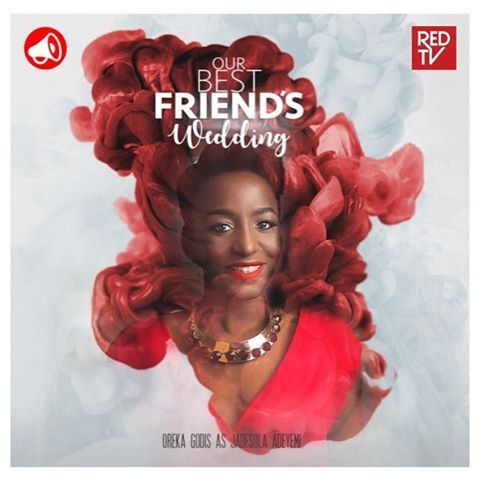 Get to know Jadesola Adeyemi a week from today on @itsredtv. She annoys Kemi (@gbemioo) about as much as Charles (@illrymz) annoys her but these musketeers never give up on each other. #FriendshipGoals #OBFW