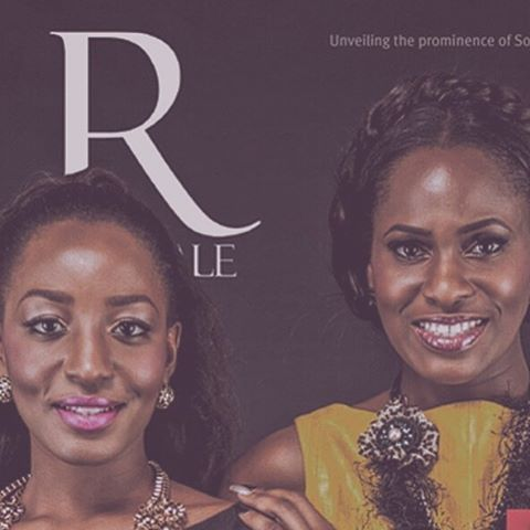 #Throwback to sharing a cover with this bundle of energy @yvonnevixenekwere 😘
