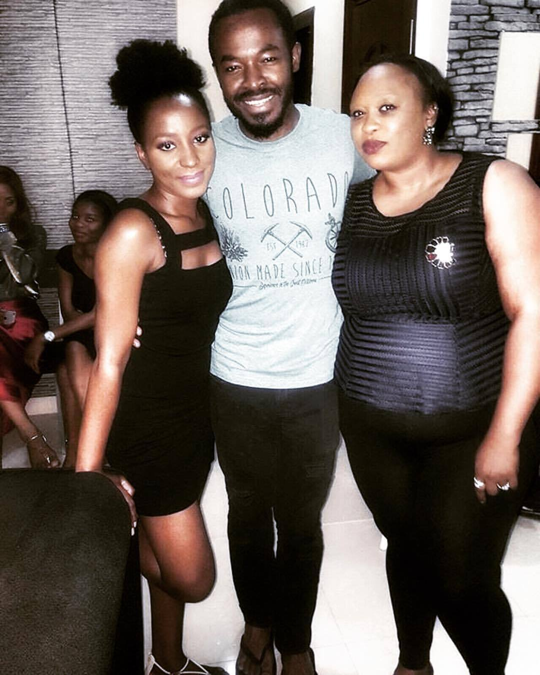 Thank you @ada_ukeje for the picture. Yayyy I saw my @erumsie  yesterday  👯 AND @ibkukeje AND @octhegreatukeje. Awesome!