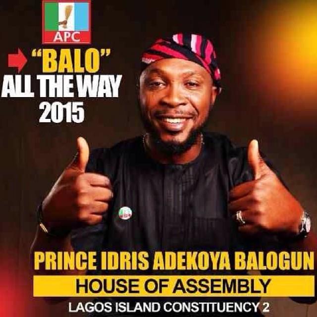 Come 2015, it's #Balo all the way #APC #Election #Nigeria