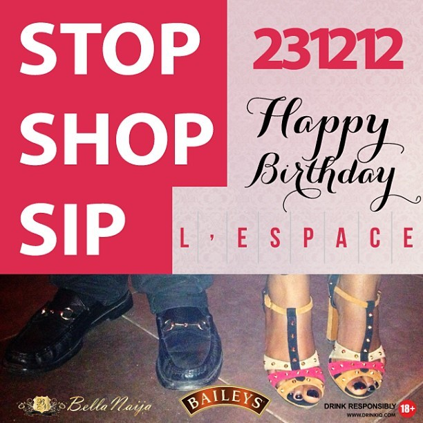 lovelespace :     Stop Shop Sip!!! This sunday at L'espace! Official drink sponsors: Baileys!! 😘 (at L'Espace)