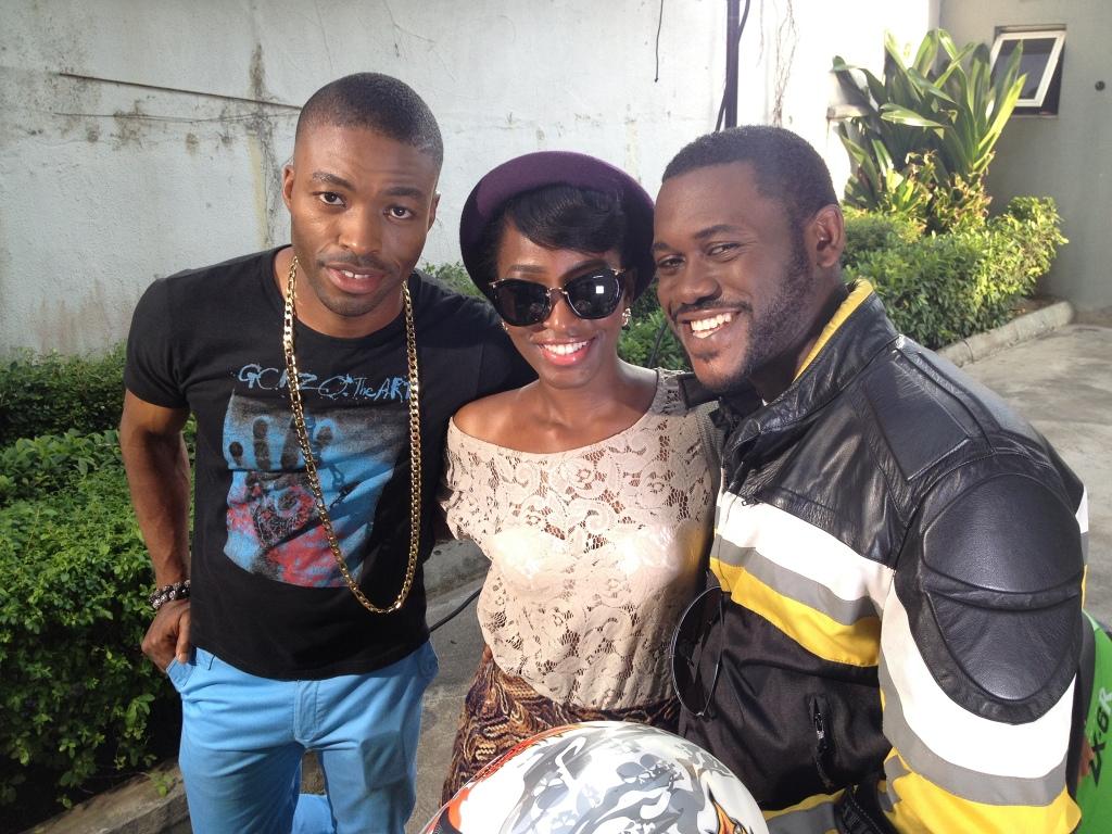 L-R: Karibi Fubara, Oreka Godis and Adeyemi Okanlawon.