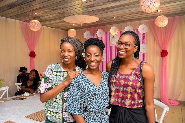 L-R: Lamide Akintobi, Oreka-Godis and Cynthia-Kamalu