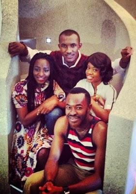 Clockwise: Gideon Okeke, Weruche Opia, OC Ukeje and Oreka Godis
