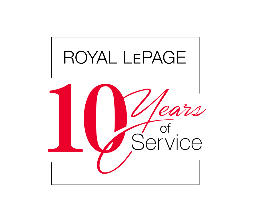 Royal LePage 10 Years of Service Award - 2013