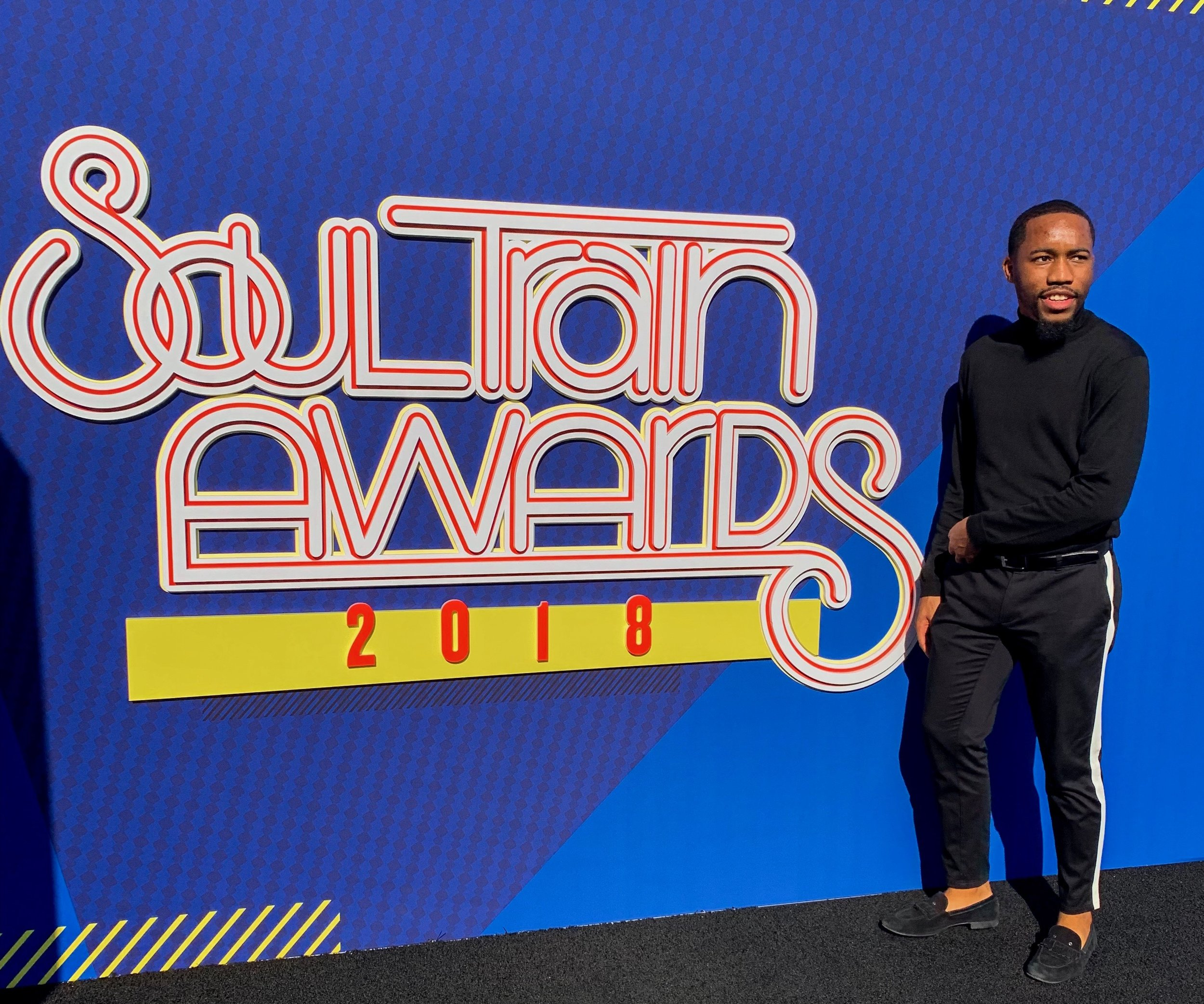 Michael at the Soul Train Awards