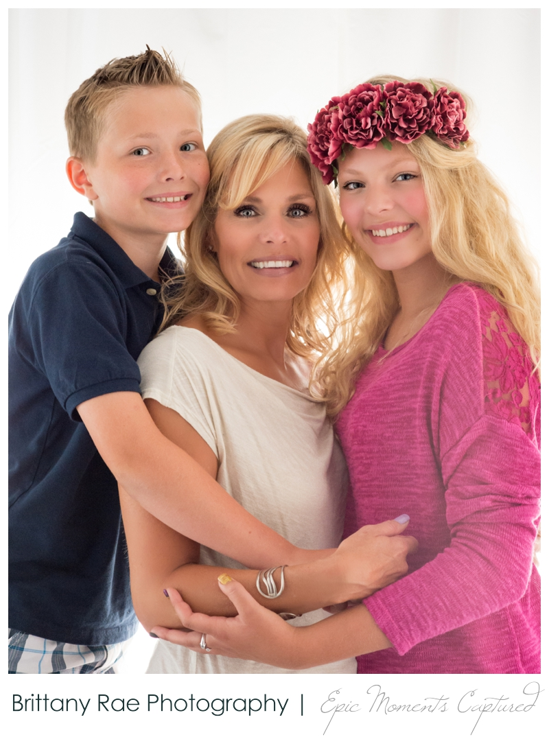 Mother and Daughter glamour portraits, Scarborough Maine - Family glamour portraits