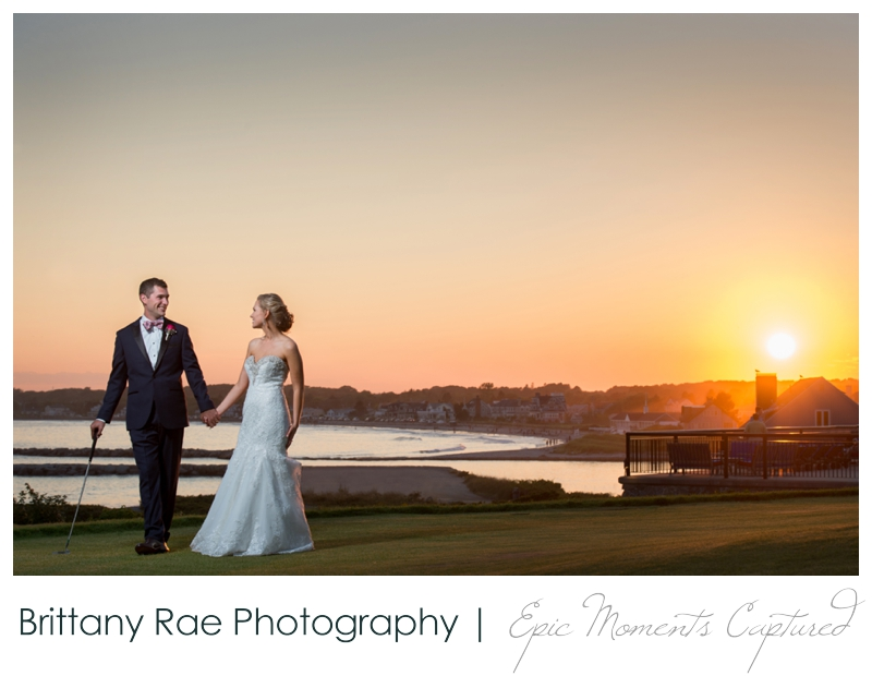 The Colony Hotel Wedding in Kennebunkport Maine - Sunset at the Colony